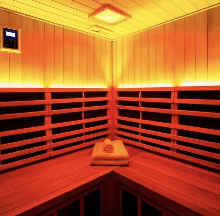 Infrared Sauna While Turned On