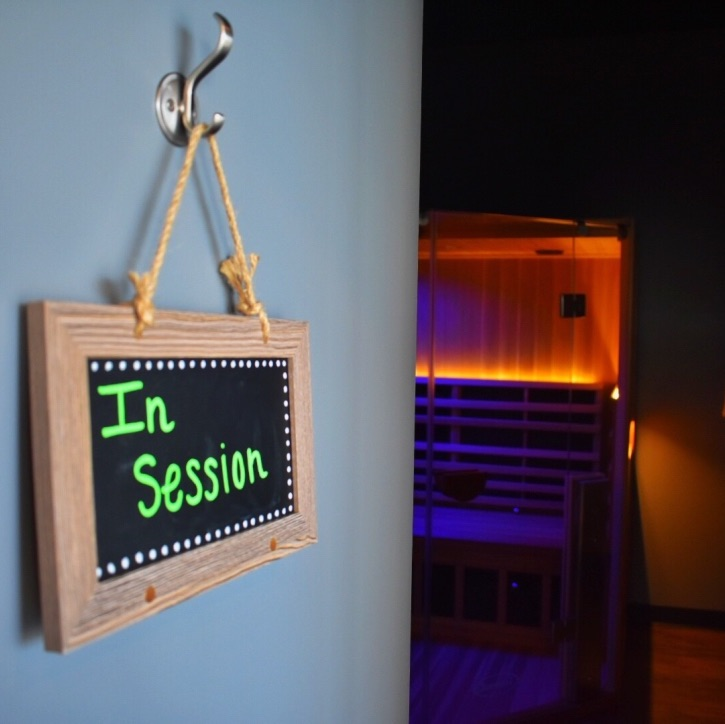 Infrared Sauna In Session Image
